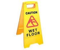 M&T Warning sign Wet Floor