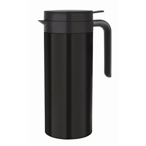 cruche isotherme 1 litre noire m t international hotel restaurant supplies nv. Black Bedroom Furniture Sets. Home Design Ideas