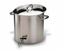 Stockpot 36cm with tap