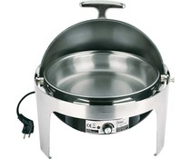 M&T Chafing dish rond electrisch met rolltop
