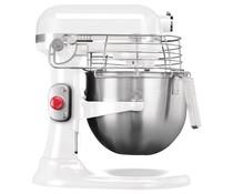 KitchenAid Professionele Mixer 6,90 liter witte kleur