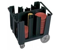Cambro Dish trolley adjustable black color