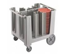 Cambro Dish trolley adjustable speckled grey