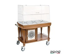 Zepé Refrigerated trolley for dessert or cheese
