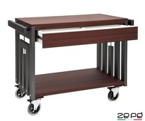 Zepé Trolley with double drawer