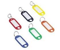 M&T Set met 100 stuks gekleurde sleutelhangers