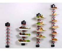 Plate Mate Wall-mounted plate rack for 18 plates