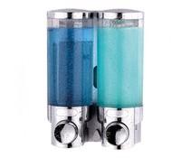 M&T Soap & shampoo dispenser double