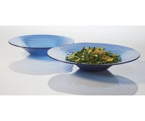 M&T Glacier™ Blue Glass Bowl 38 cm