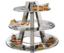 M&T Buffet stand with 3 rings