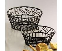 M&T Breadbasket black wrought iron round 23 cm