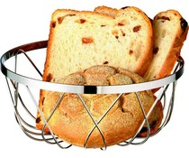 M&T Breadbasket chromed 18 cm