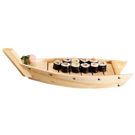лодка для суши и роллов