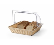 M&T Bread basket with roll top cover GN 2/3