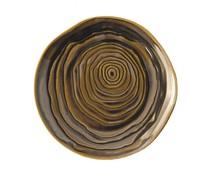 Pullivuyt Flat plate TECK 16.5 cm bronze