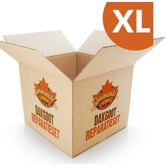 Gummil Dachrinnen-Reparaturset XL
