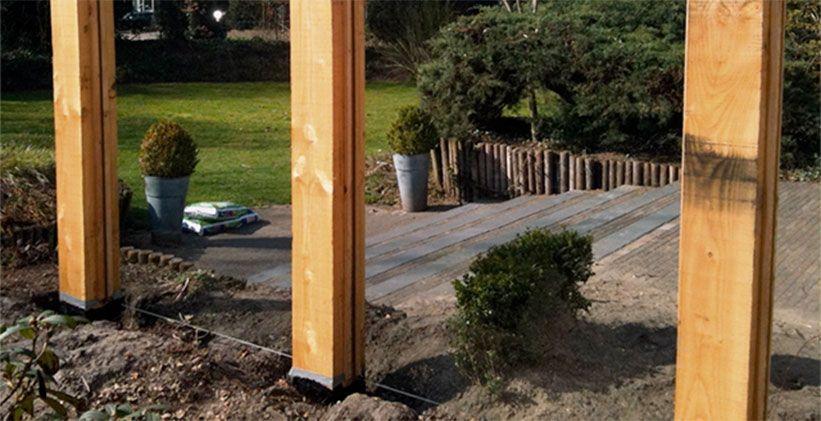 Bescherm je tuinpalen met Gummil Premium Vloeibaar Rubber