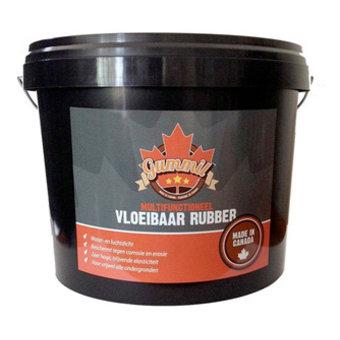 Gummil Premium Vloeibaar Rubber 10 liter, maakt alles water- en luchtdicht.