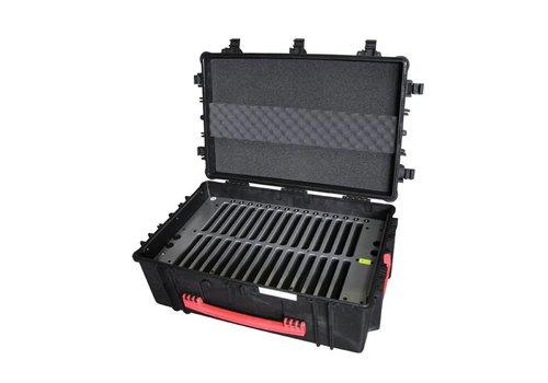 """Parotec-IT opladen & syncen C14 koffer voor 30 iPads en 9-10"""" tablets met en zonder dunne beschermhoes"""
