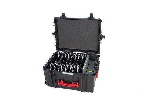 Parotec-IT iNsync CL44 iPadkoffer; opslag en transport tot 20 iPads zonder en met beschermende cover