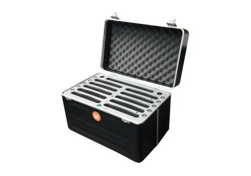 Parotec-IT opladen C525 koffer voor 10 iPad mini en tablets tot 8 inch