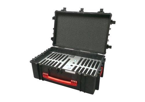 Parotec-IT NsyncC12iPadkoffer; opslag en transport tot24iPads zonder en met beschermende cover