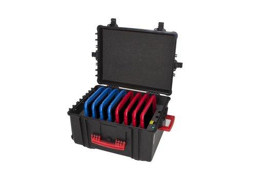 Parotec-IT iNsync C61 iPadkoffer; opslag en transport tot 8 iPads zonder en met beschermende case