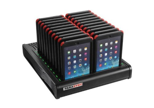 Parotec-IT opladen & syncen i20 Parasync desktop docking station voor 20 iPad mini