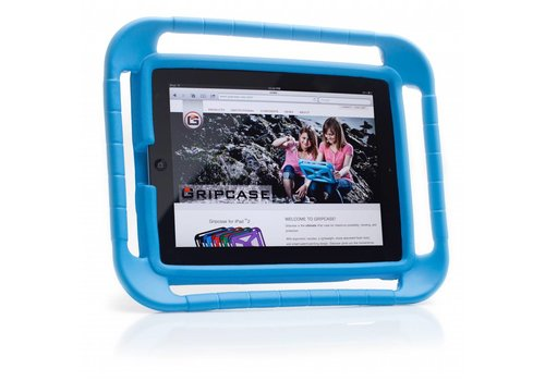 Parotec-IT iPad Air 1, 2 en iPad pro 9.7 GripCase blauw