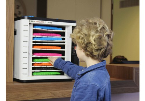 Parat opladen & syncen U10 Cube voor 10 iPads en tablets