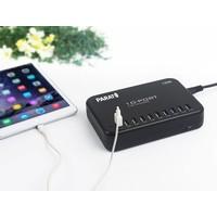 thumb-Multi-lader MC10 heeft 10 poorten voor het opladen van iPad, iPod en tablets op 1 stopcontact. Snel en veilig!-4