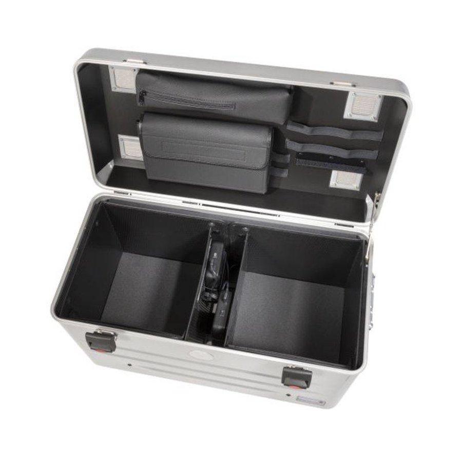 Mobiel oplaadstation voor maximaal 20 iPads of tablets, i20 trolley koffer zwart zonder compartimenten-4