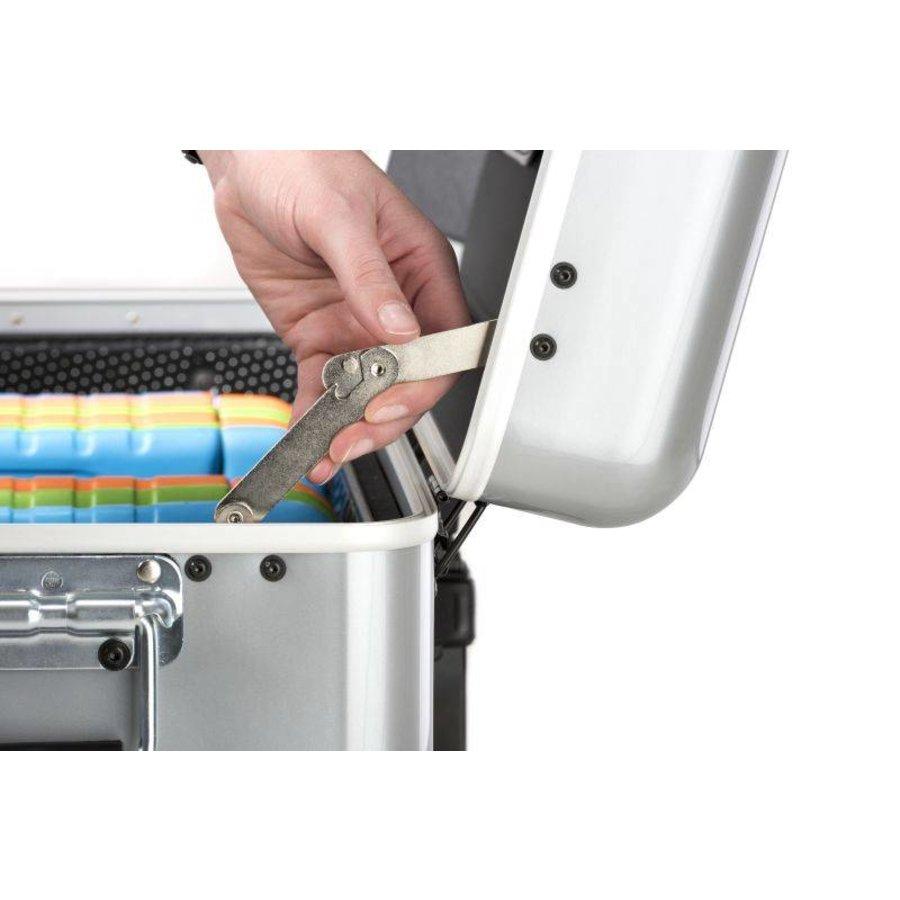 Mobiel oplaadstation voor maximaal 20 iPads of tablets, i20 trolley koffer zwart zonder compartimenten-10