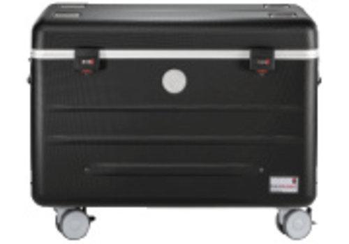 Parat i20-KC trolley koffer voor 16-20 tablets, zonder vakken zwart