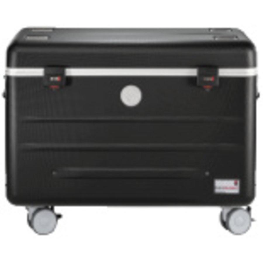 Mobiel oplaadstation voor maximaal 20 iPads of tablets, i20 trolley koffer zwart zonder compartimenten-1