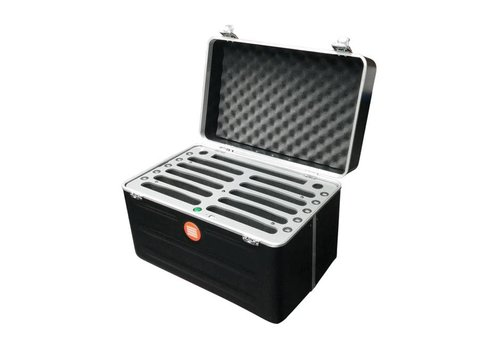 "Parotec-IT opladen & syncen C525 koffer voor 10 Pad mini en tablets tot 8"""