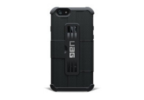 UAG Booklet Case Folio iPhone 6,6S in zwart