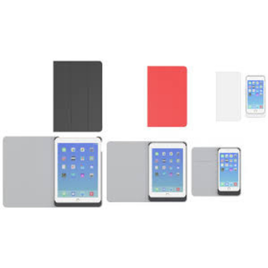 Preforza iPad Air 2 Wireless Charging Case in het rood-2