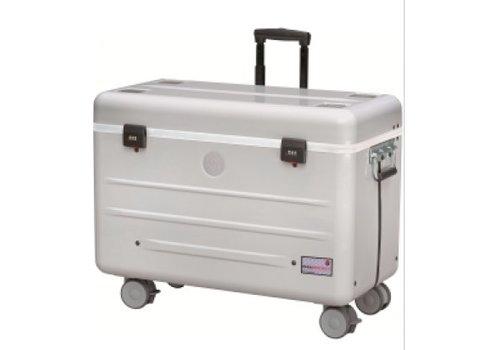 Parat N12 trolley koffer voor notebooks in het zilver