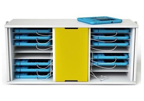 Zioxi Oplaadkast  Charge only 16 iPads in dikke hoezen