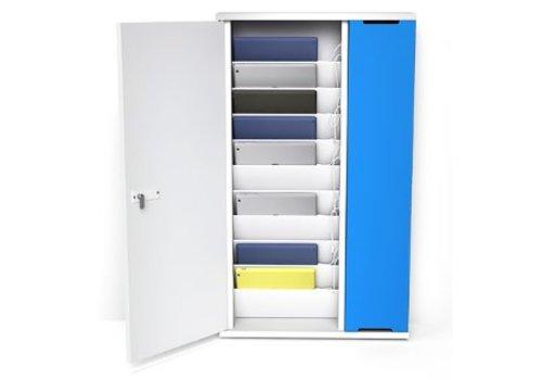 "Zioxi oplaad kast wandmontage voor 10 iPads en 9-11"" tablets"