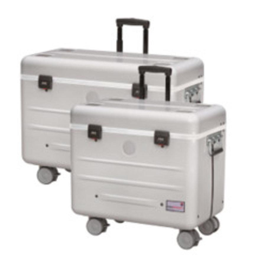 A16S trolley koffer met 16 vakken zwart-1