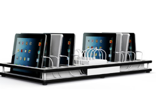 Zioxi charge&sync deck 10 iPads, tablets