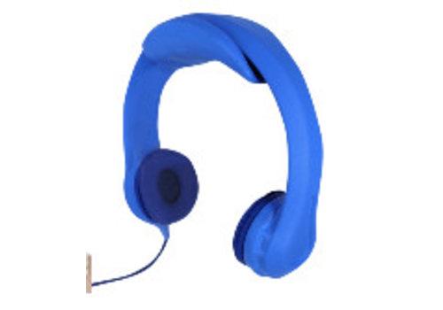 kidscover kidscover safe 'n sound hoofdtelefoon blauw