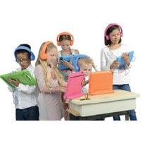 kidscover safe 'n sound hoofdtelefoon blauw