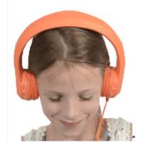 thumb-kidscover safe 'n sound hoofdtelefoon oranje-1