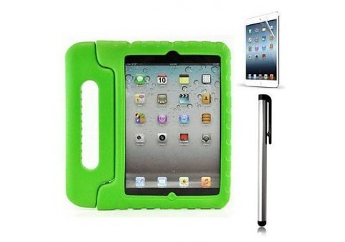 kidscover iPad kids case in de klas groen
