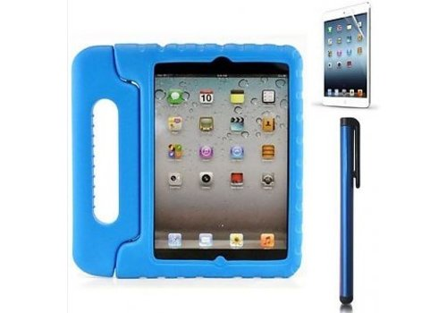 kidscover iPad kids case in de klas blauw