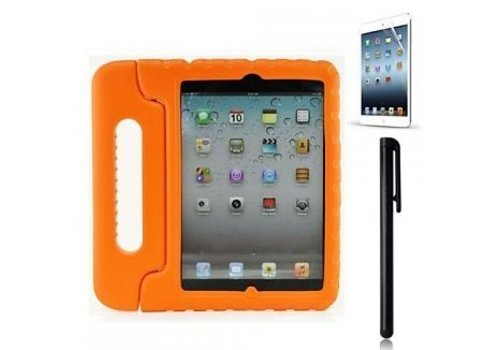 kidscover iPad kids case in de klas oranje
