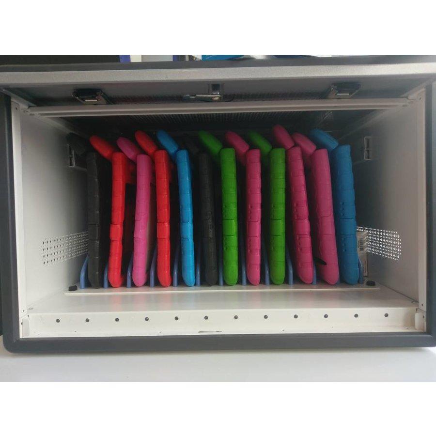 D12 MultiCharger modulaire opslag, laad en synchronisatie kast voor 12 iPads of andere tablets